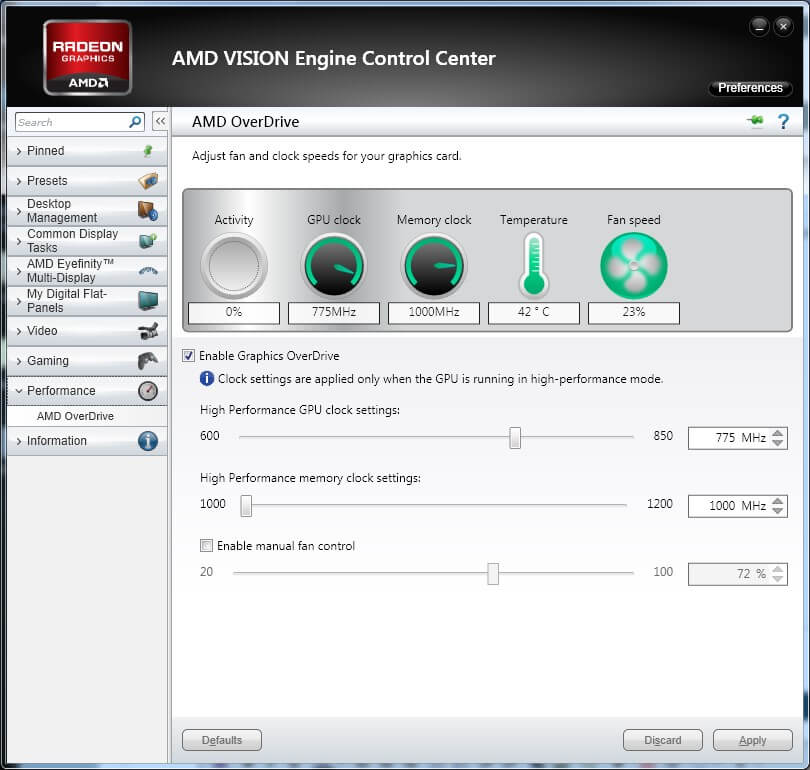 AMD Catalyst Control Center, which runs on fuel.service.exe